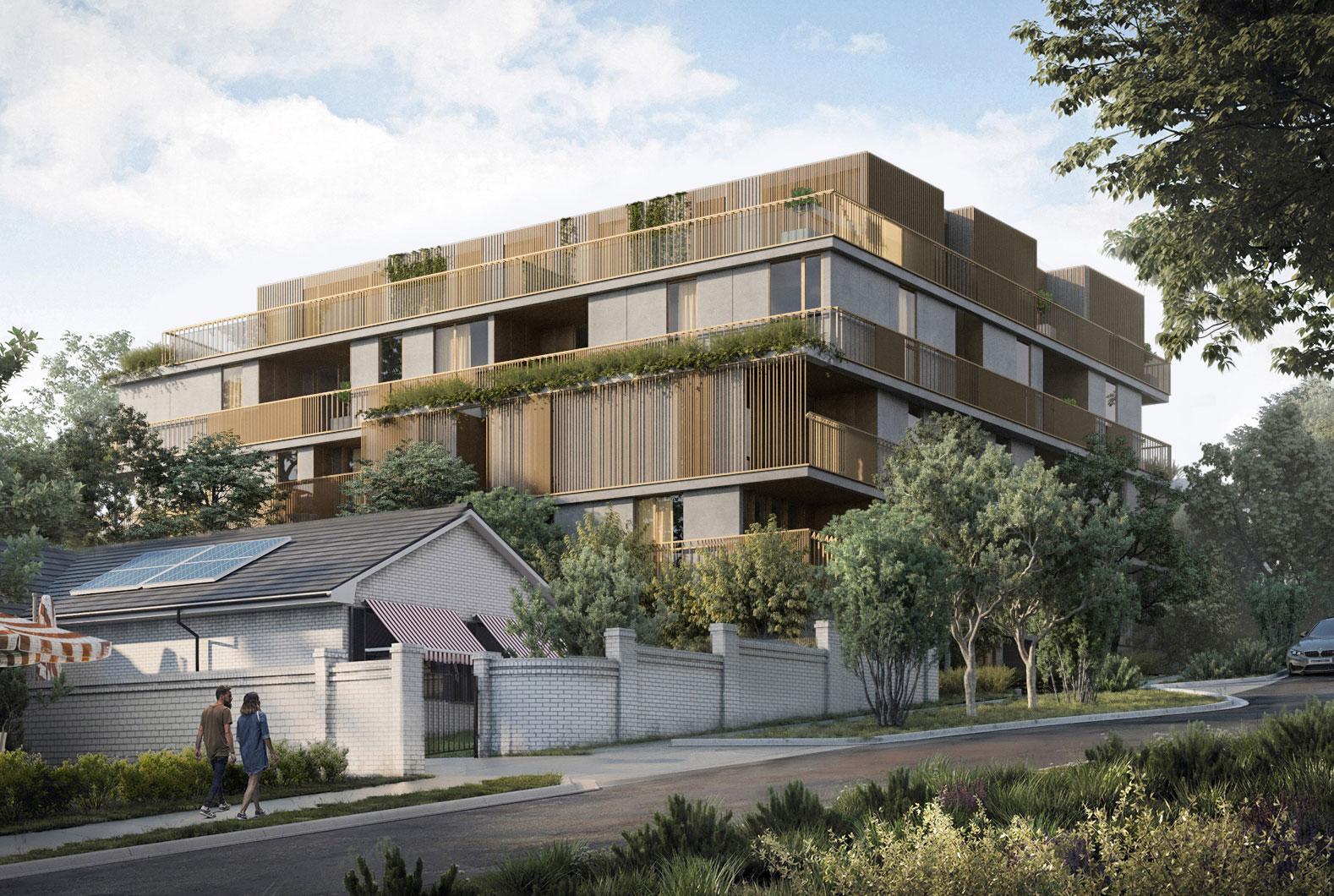 Low Carbon Housing - Melbourne - DROO Architects